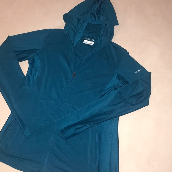 36886f0d313 Columbia Tops | Omniwick Athletic Zip Up Size Small | Poshmark